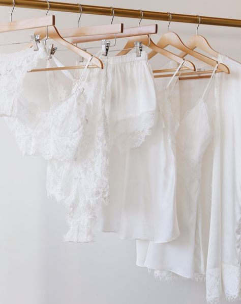 Lulus Intimates and Sleepwear collection is perfect for any bride! Shop white lacey lingerie, sleep shorts, robes, and more for your honeymoon or just because! #lovelulus