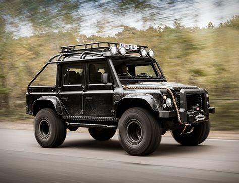 Land Rover Defender Tweaked Spectre Edition Land Rover Defender Land Rover Land Rover Defender 110