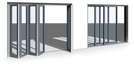 All-in-One Revit Bi-Fold/Sliding Door Family - The Door
