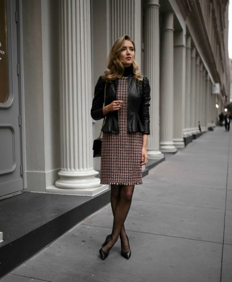 When it comes to client meetings, you want to take your professional style from worker bee to girl boss. Don't be afraid to up the ante from a basic suit!