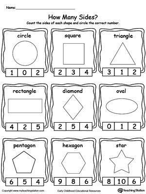 Pin By Mbak Desi Printable Workshee On Kids Math Worksheets Shapes Worksheet Kindergarten Kindergarten Worksheets Homeschool Math
