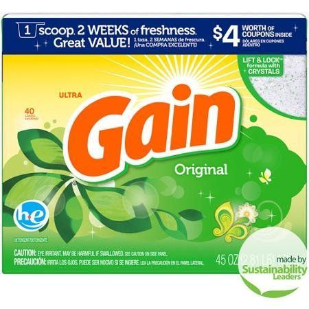 Gets An F Gain Ultra Original He Laundry Detergent Powder Other
