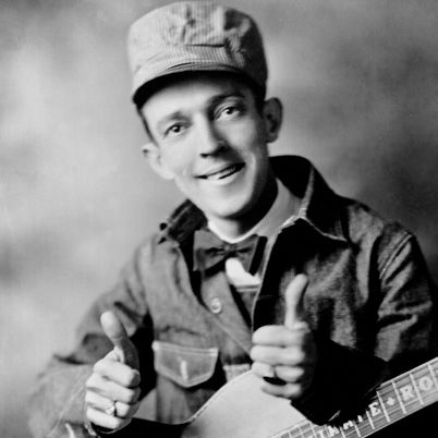 "Jimmie Rodgers- 9/8/1897- 5/26/1933-  aka, ""The Singing Brakeman"". Considered by many to be the grandfather of country music."