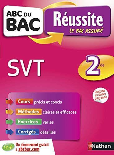 Telecharger Abc Du Bac Reussite Svt 2de Pdf Et Epub Le Livres Science Et Vie Reussite Abc