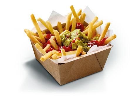 Loaded Fries Guacamole And Salsa Mcdonald S New Zealand Pommes Frites Chien Chaud Hamburgers