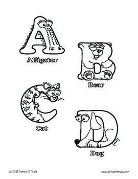 Uppercase Letter Coloring Pages Alphabetimals Alphabet Printables Letter A Coloring Pages Animal Alphabet Printable Animal Alphabet Letters