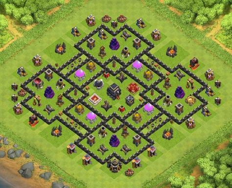 Base Coc Th 9 Terkuat 4