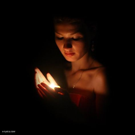 Art Candle Light Photography