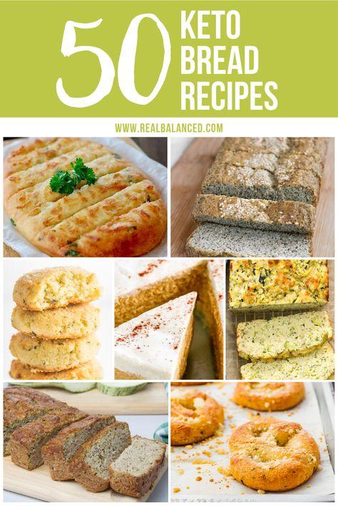 50 Keto Bread Recipes Best Keto Bread Lowest Carb Bread Recipe