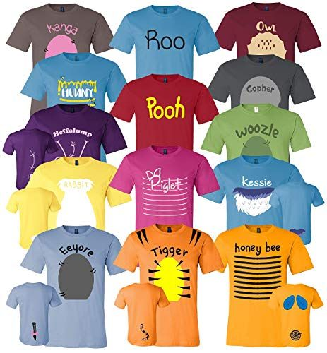 Image result for winnie the pooh group shirts