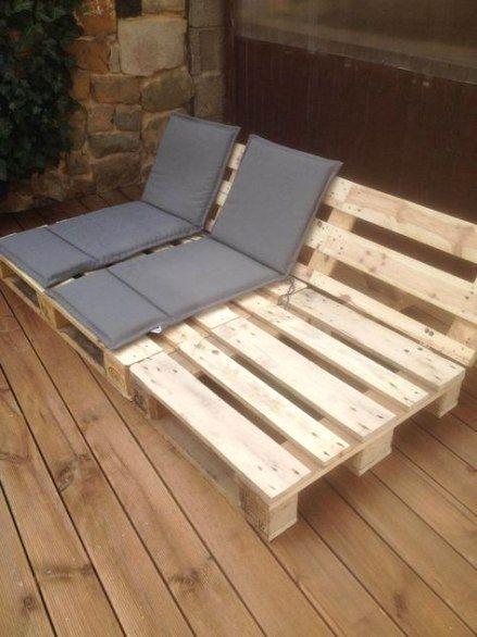 Crazy Projects For Diy Pallet Couches Mit Bildern Palettenmobel Im Freien Diy Terrasse Holzdecke