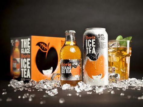 Boris Ice Tea Packaging Design by lg2 boutique