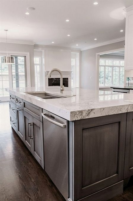 Island Countertop Thick Island Countertop Kitchen Island With