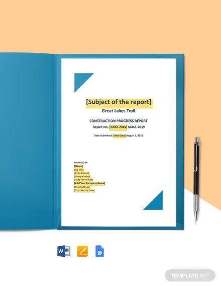 Student Progress Report Template In 2020 Progress Report Progress Report Template Report Card Template