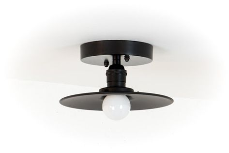 Plafoniere Industrial Style : Semi flush mount light ceiling modern lights