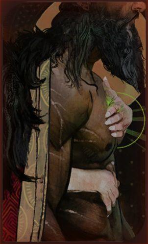Blackwall card - Dragon Age Inquisition