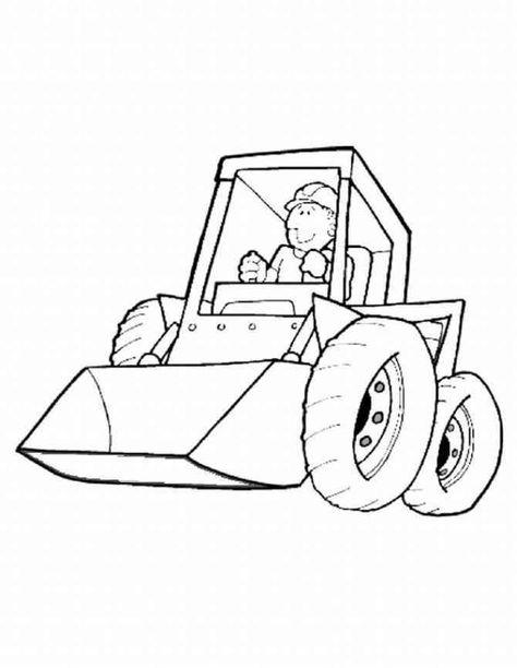 bildergebnis für bagger zeichnung  malvorlagen für kinder