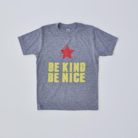Be Kind Be Nice / Lemon Tee Shop