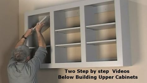 Attractive How To Build Upper Wall Cabinets | DIY | Pinterest | Wall Cabinets, How To  Build And Cabinets