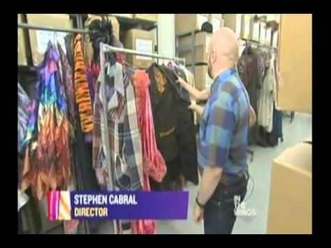 """TDF Costume Collection featured on NY Nonstop's """"In the Wings"""" - June 3, 2011"""