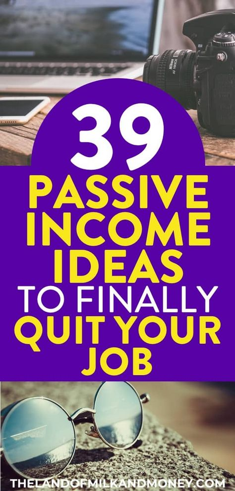 Passive Income Ideas: 39 Ways To Make Money While You Sleep In 2021