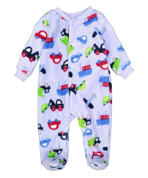 4f8ba1b55b1b Look at this Sweet   Soft Blue Fleece Bodysuit- Infant on  zulily ...