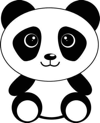 Gambar Animasi Panda Hitam Putih Keren Gambar Animasi Panda Hitam Putih Keren 21 Gambar Panda Lucu Serta Asal Usul Panda Background Panda Art Cartoon Panda