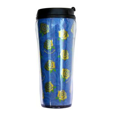 Sigma Gamma Rho Sorority Metallic Travel Mug #greek #sorority #sigmagammarho #sgrho #accessories