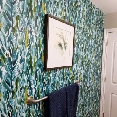 Leaves Peel Stick Wallpaper Green Opalhouse Leaf Wallpaper Peel And Stick Wallpaper Green Wallpaper