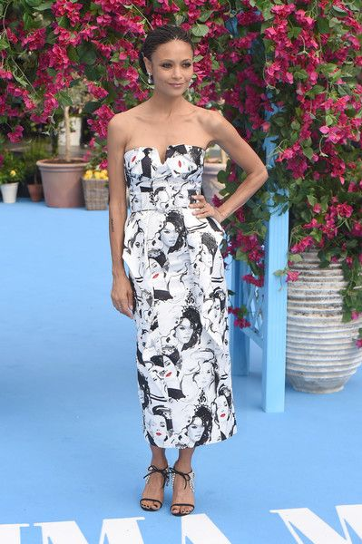"Thandie Newton Photos - Thandie Newton attends the ""Mamma Mia! Here We Go Again"" world premiere at the Eventim Apollo, Hammersmith on July 16, 2018 in London, England. - 'Mamma Mia! Here We Go Again' World Premiere"