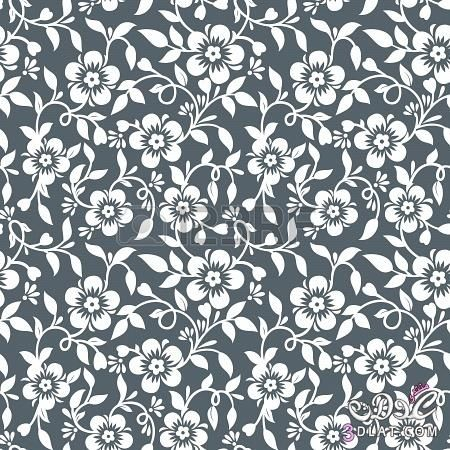 باترونات للفوتوشوب خلفيات زخارف للتصميم صور جاهزة للكتابة Vintage Floral Pattern Pattern Floral Pattern