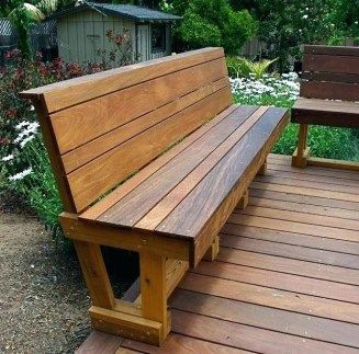 Phenomenal Wooden Bench Ideas Best Of Wood Bench With Back Wood Chair Pabps2019 Chair Design Images Pabps2019Com