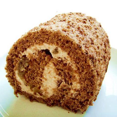 マロングラッセ ロールケーキ - 元競輪選手 多以良泉己・宇佐美総子が3時間に1つだけ手作りする北鎌倉 天使のパン・ケーキGateau d'ange
