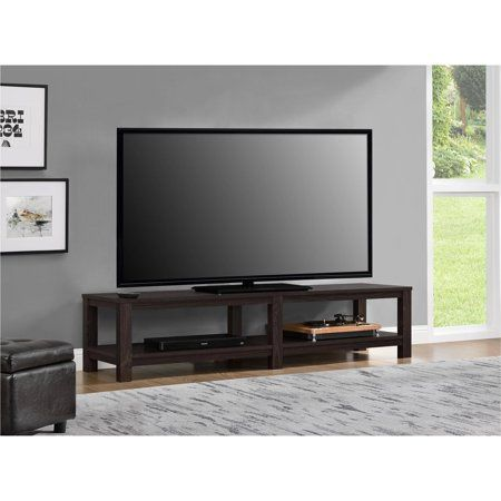 Mainstays Parsons Tv Stand For Tvs Up To 65 Multiple Colors Tv Stand Entertainment Stand Entertainment Console
