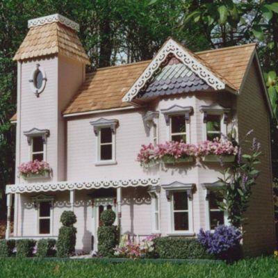Barbs Dollhouses - Lady Anna Victorian Dollhouse Kit by The House