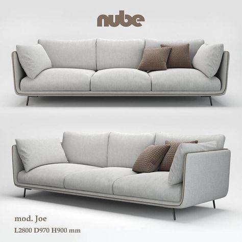 Nube Joe Sofa 3d Model In 2020 Sofa Set Designs Ecksofa Design Sitzgruppe
