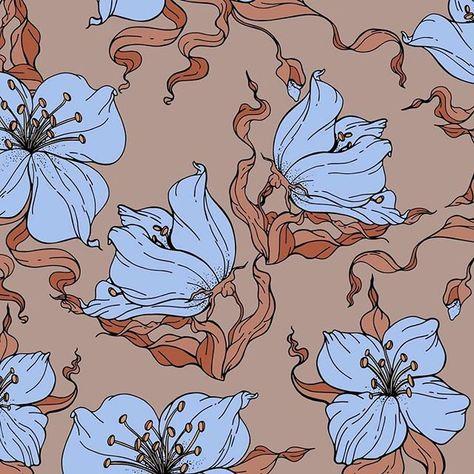 Floral Pattern by Elona Laff