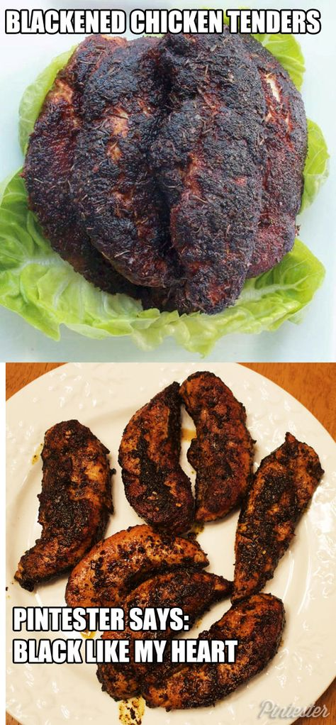 """Making anything """"blackened"""" in the Pintester kitchen means strife, heartache, and the opposite of marital bliss."""