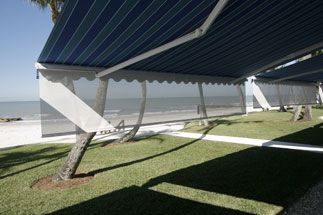 Motorized Rolling Shades Screens Retractable Awnings