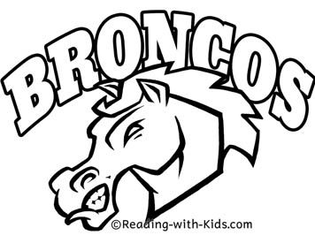 Mascot Coloring Pages With Images School Mascot Mustang Logo