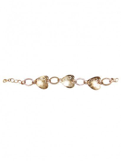 انسيال ذهب عيار 18 انسيال ذهب ايطالى عيار 18 شكل قلوب Jewelry Jewelrymaking Love Women Gold Goldjewellery Heart Gold Jewelry Gold Bracelet