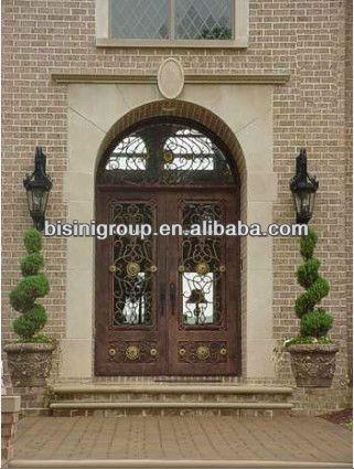 Bisini De Lujo De Diseno De Arco De Puerta De Hierro Forjado Bg90056 Imagen Puerta Identificacion Del Producto 739118677 Spanish Alibaba Com