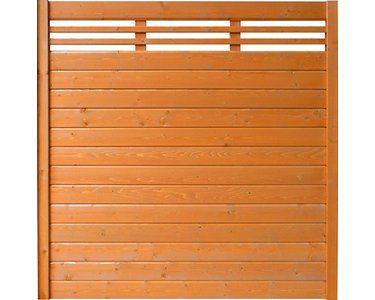 Sichtschutzzaun Element Typ 137 180 Cm X 180 Cm Kirschbaumfarben Kaufen Bei Obi Sichtschutzzaun Sichtschutzelemente Kirschbaum
