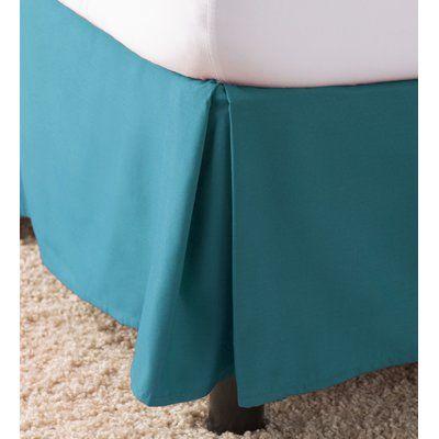 Charlton Home Dorinda Solid 14 Bed Skirt Size King Colour