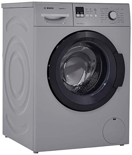 Bosch 6 5 Kg Fully Automatic Front Loading Washing Machine Wak20166in Titanium Front Loading Washing Machine Washing Machine Bosch