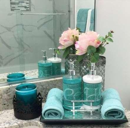 Farmhouse Bathroom Decor Teal 25 Ideas Badezimmer Dekor Badezimmer Diy Badezimmer Arbeitsplatten