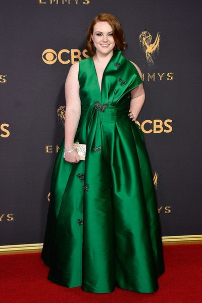 Actor Shannon Purser attends the 69th Annual Primetime Emmy Awards at Microsoft Theater.