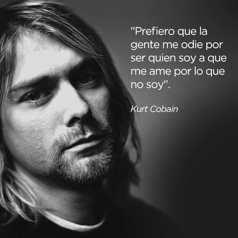Kurt Cobain.  Nació un 20 de febrero de 1967 y cambió la música de los 90's.