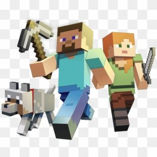 Minecraft Minecraft Steve And Alex Png Transparent Png Minecraft Characters Minecraft Art Character Printables