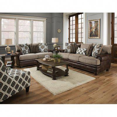 Bergin 2 Piece Living Room Set Homedecorlivingroommodern 3